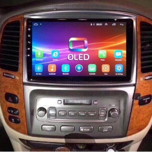 Màn hình DVD Android cho xe Toyota Land Cruiser 2003-2007