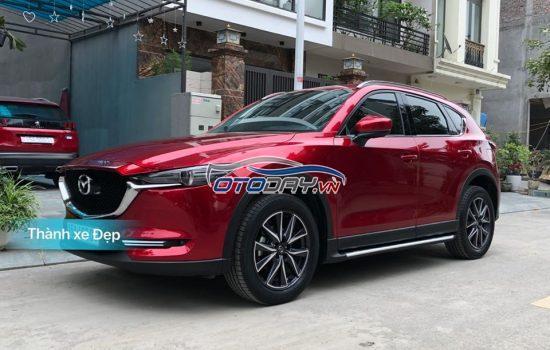 Cần bán Mazda CX 5 màu đỏ pha lê 2.5AT, sản xuất cuối 2018