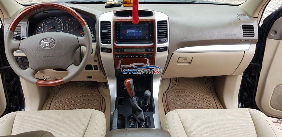 Toyota Land Cruiser Prado GX sản xuất 11/2008