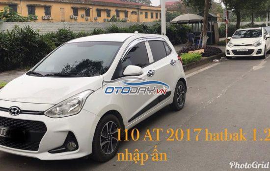 Chính chủ bán i10 hatbak 2017 AT
