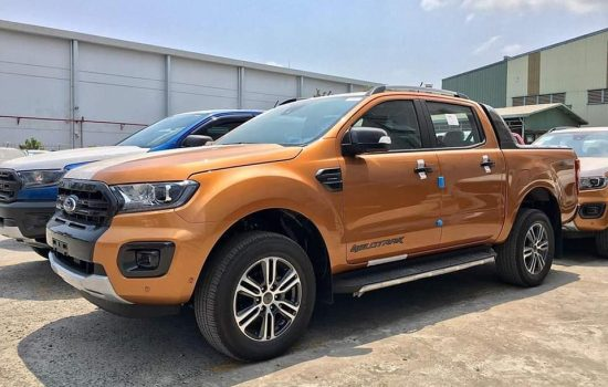 Giá xe Ford Ranger Wildtrak 2.0 Biturbo 4×4 AT Màu Đỏ Cam Đời xe 2020, Nhập khẩu Thái Lan, Giao xe ngay có trả góp