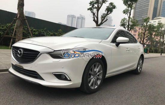 Mazda 6 2.0 AT 2016 phiên bản nilong chưa bóc