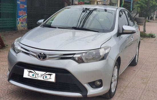 Vios E 2014 xe gia đình sử dụng từ đầu không chạy taxi