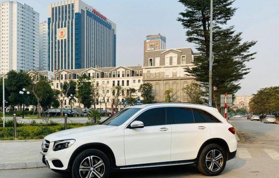 GLC 250 sx 2017 trắng nội thất nâu siêu đẹp