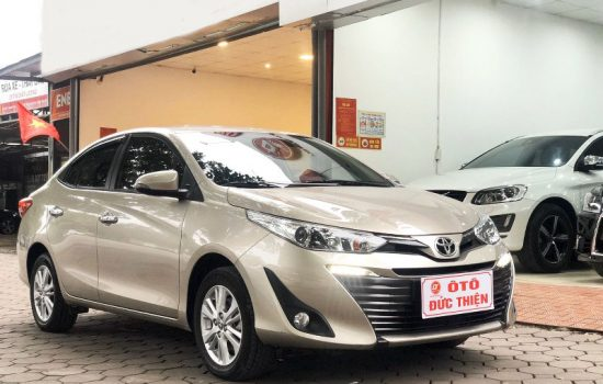 Toyota Vios 1.5G sản xuất 2018