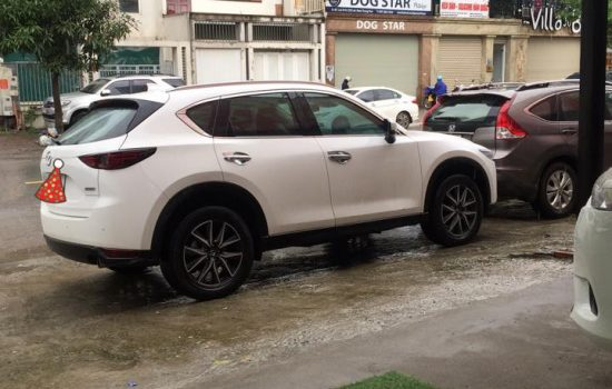 Mazda Cx5 trắng 2018 Bản 2.5 AT 1 cầu