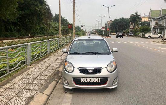 Kia morning slx sản xuất năm 2010 đăng ký lần đầu 2011