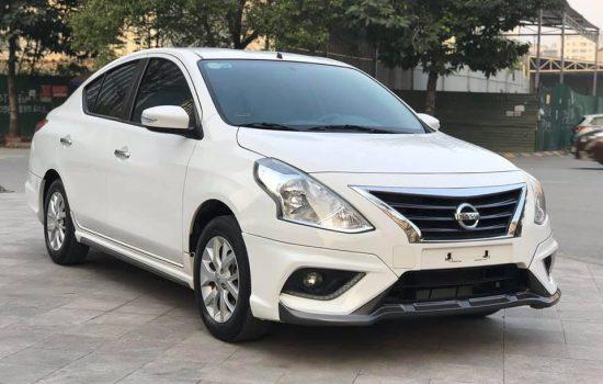 Nissan Sunny XT Premium sx 2019, số tự động, màu trắng.