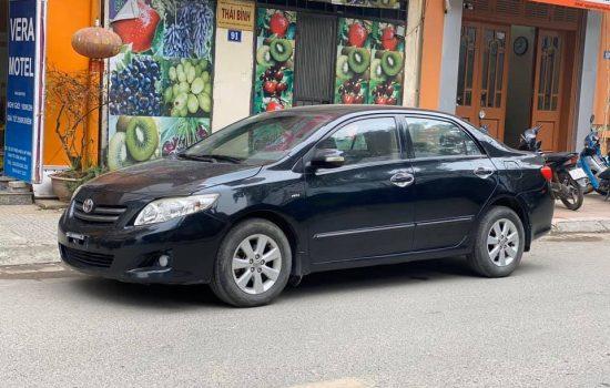 Toyota Corolla Altis đời 2009 hồ sơ cầm tay ( gốc hà nội)