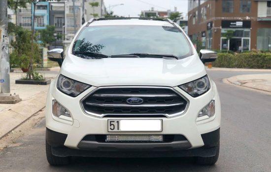 Ford EcoSport AT Titanium Model 2019 màu trắng