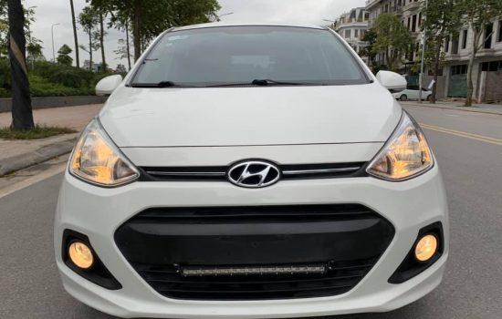 Huyndai i10 bản 1.0 AT nhập khẩu model 2016 trắng ngọc trinh
