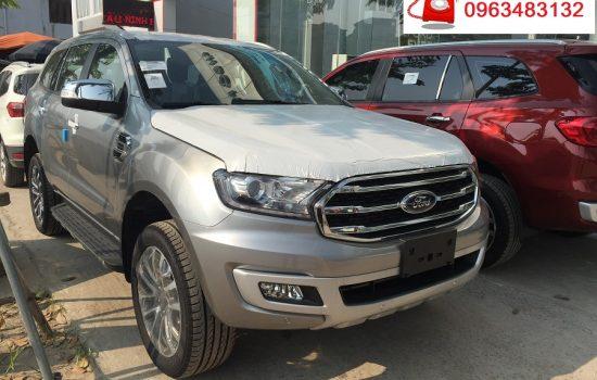 Giảm hơn 100 Triệu đồng khi mua xe Ford Everest Titanium 2.0L 4×2 AT Màu Bạc