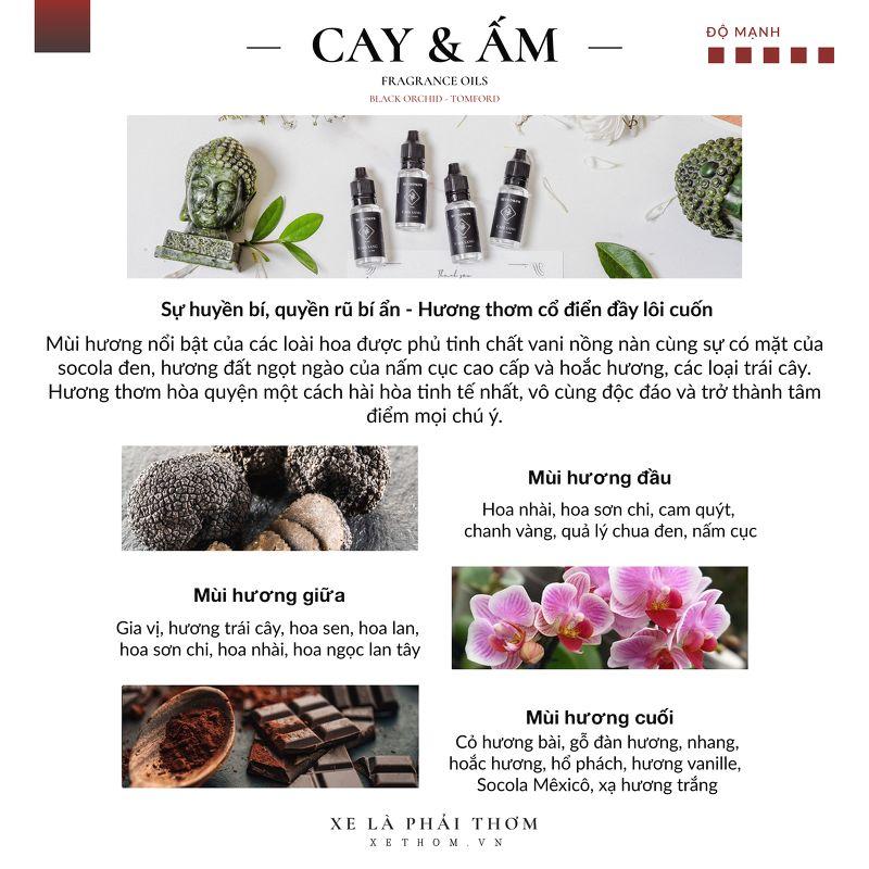 """REFILL KIT CHAI 15ml – HƯƠNG THƠM """" CAY & ẤM """" – 15ML"""