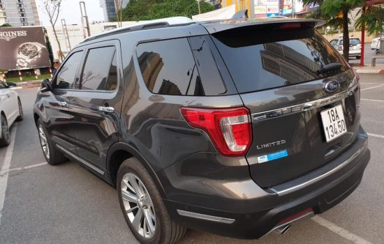 Ford Explorer Limited 2.3L Ecoboost 6AT A 4WD 2017