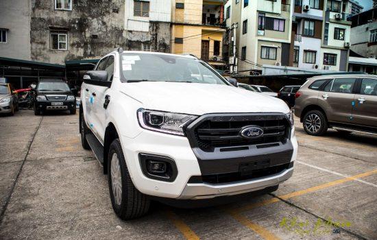 Giá xe Ford Ranger Wildtrak 2.0 Biturbo 4×4 AT 2020 Màu Trắng, Giao ngay tại An Đô Ford, Hỗ trợ trả góp 80%