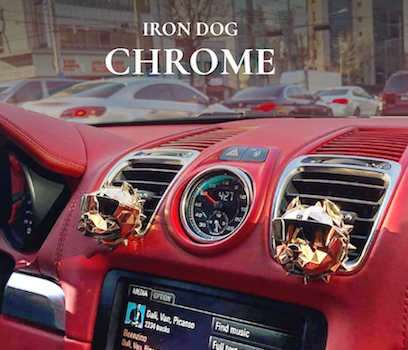 Nước Hoa ô tô Iron Dog – Chrome Luxury