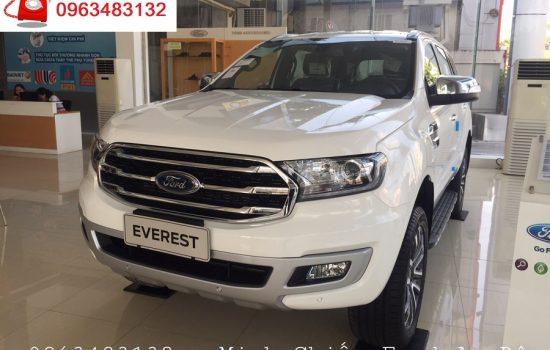 Ford Everest Titanium 2.0L Turbo 4×2 AT Màu Trắng mới 100%, Nhập khẩu Thái Lan, Giảm hơn 100 Triệu đồng