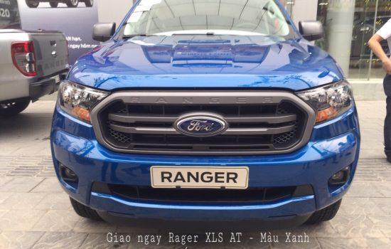 Tư vấn trả góp xe Ford Ranger XLS 2.2L 4×2 AT Màu Xanh 2020, Giao xe ngay tại An Đô Ford
