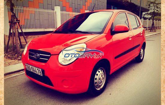 Bán Gấp Xe Kia Morning Van AT sx 2010 đăng ký 2014 màu đỏ nhập khẩu