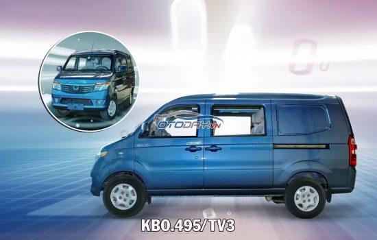 Xe tải VAN 5 chỗ KENBO 495kg giá siêu rẻ, xe van kenbo 5 chỗ ngồi 2020