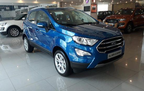 Đại lý xe Ford bán xe Ecosport Titanium 1.5L 4×2 AT Màu Xanh mới 100%, Tặng Bảo hiểm thân vỏ và hỗ trợ Gói phụ kiện