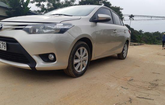 Chính chủ cần bán Toyota vios 1.5E màu vàng cát