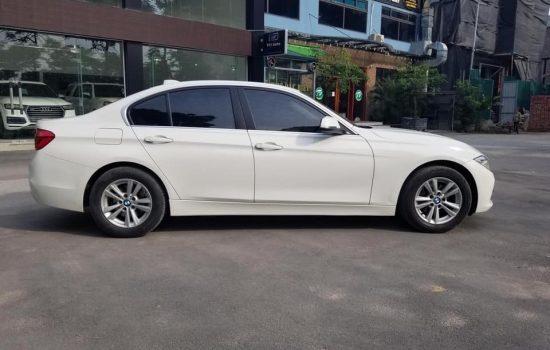 BMW 320i trắng nội thất kem model 2014