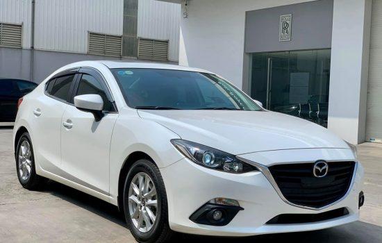 Thanh Lý Mazda 3 1.5AT 2017 Màu Trắng