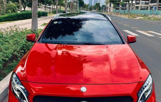 GLA 45 AMG đỏ model 2016, ĐK 2016 nhập nguyên chiếc