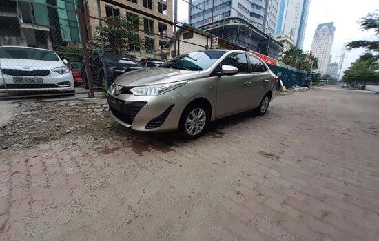 Toyota VIOS SX 219 màu vàng cát MT fom 7 túi khí bản E