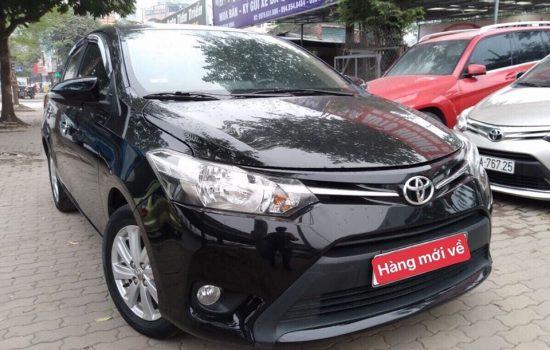Toyota Vios 2015MT – Hộp số sàn, biển Hà Nội