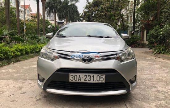 Bán xe toyota vios sản xuất và đăng ký 2014 xe tư nhân chính chủ