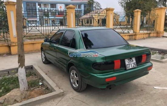 Mitsubishi Proton Wira sản xuất 1999, màu xanh