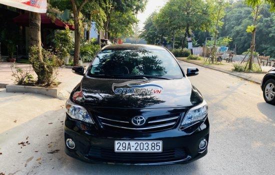 Bán xe Toyota Corolla Altis 2011 màu Đen Biển Hà Nội