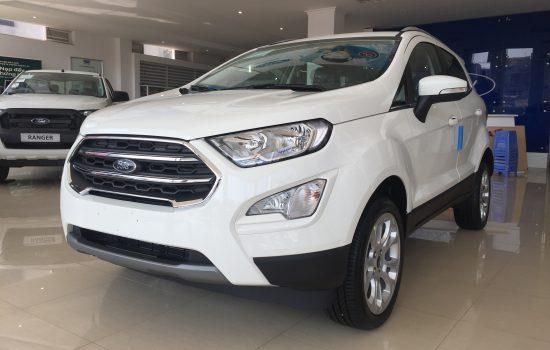Giá xe Ford Ecosport Titanium 1.5L 4×2 AT 2020 Màu Trắng, Hỗ Trợ Giao xe tận nhà, có trả góp 80%