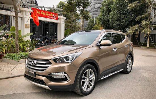 Hyundai Santafe 2.4L Full XĂNG 4×4 sx 2016