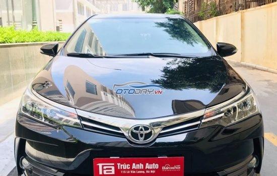 Toyota Corolla Altis 1.8G sản xuất 2018.