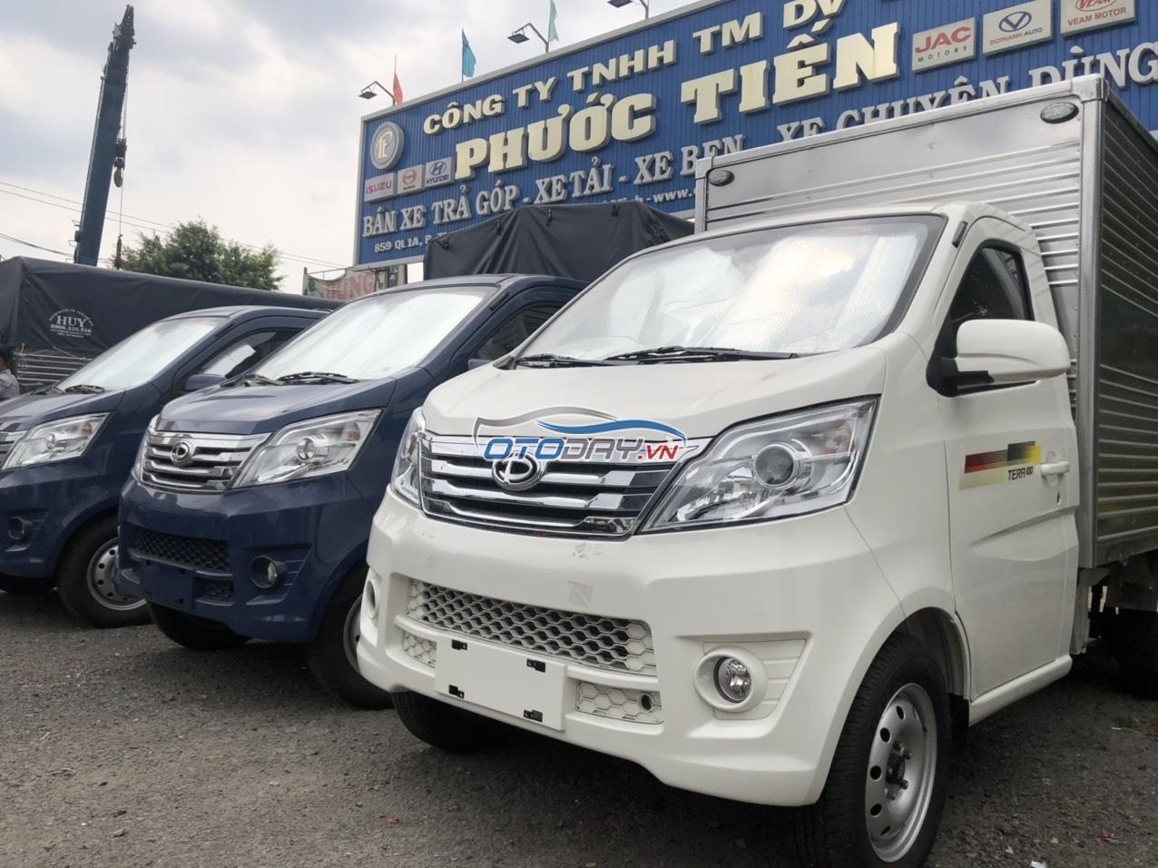 Xe tải Tera 100 động cơ Mitsubishi, Tera 100 thùng cánh dơi, thùng bạt, thùng kín, thùng lửng đều có sẵn