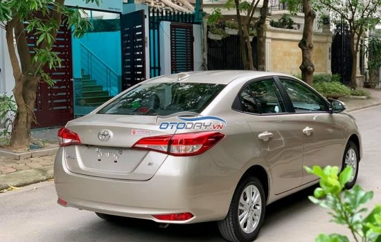 Bán Toyota Vios E sx 2018 Model 2019