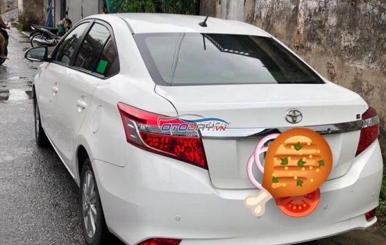 Toyota Vios 2017 1.5G Trắng