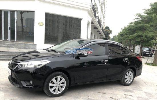 Chú Tuấn cần bán Vios E 2015 màu đen biển Hà Nội