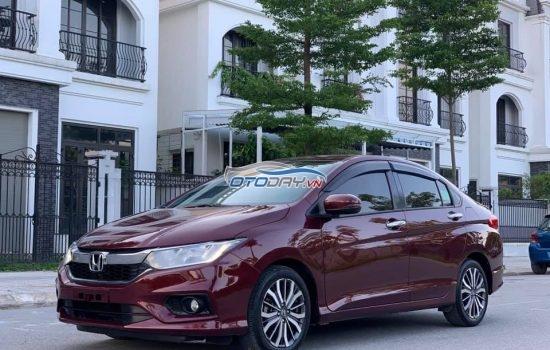 Honda City 2016 số tự động