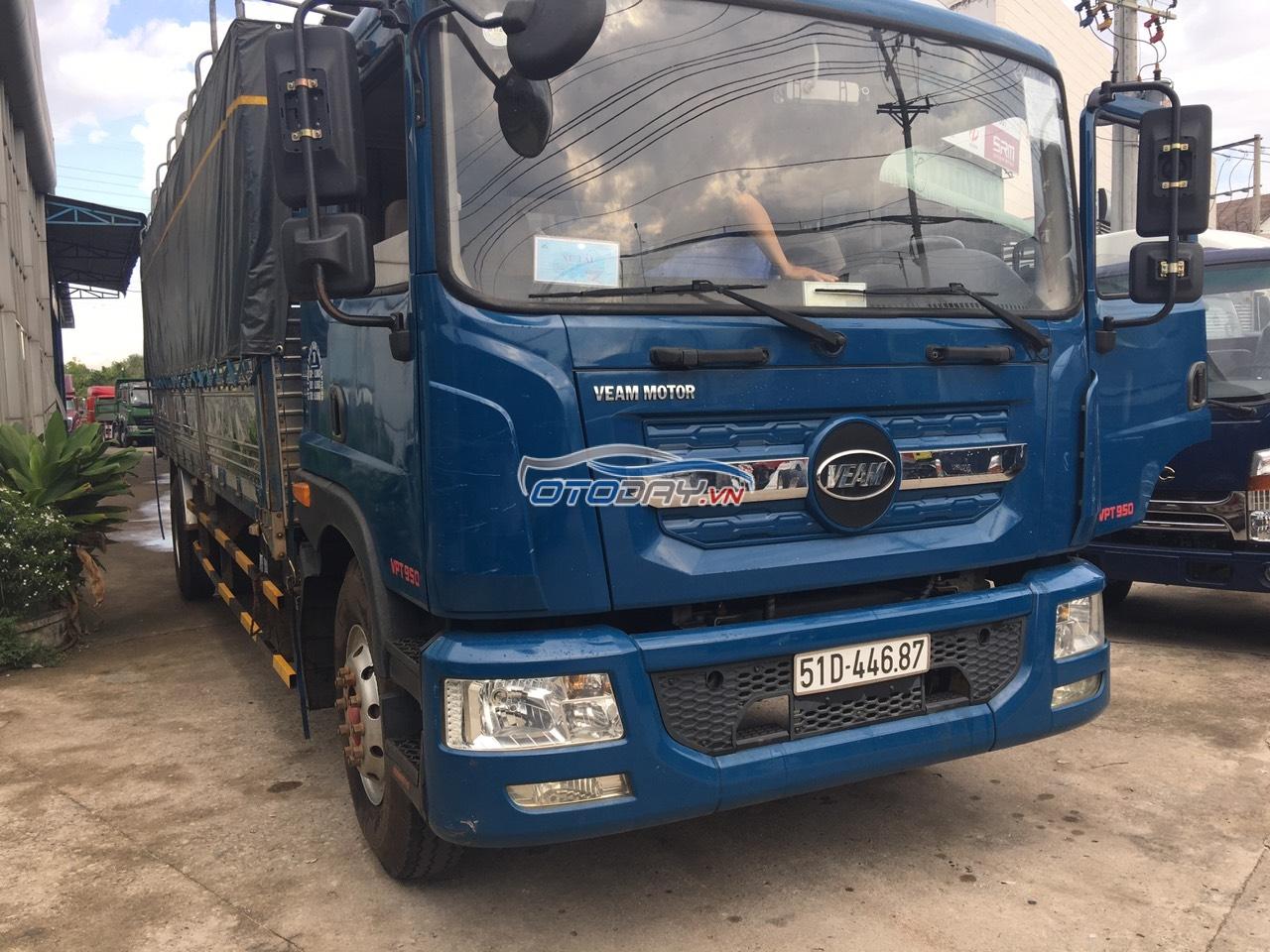 Xe tải Veam VPT950 9T3 thùng 7m6 2018 bao zin