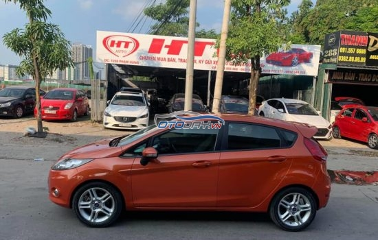 Ford Fiesta S 1.6 AT 2012 dkld 2013 xe 1 chủ