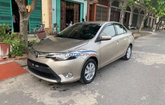 Toyota Vios E MT 2016