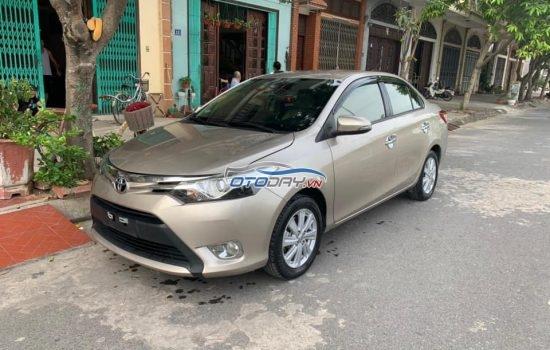 Toyota Vios thần thành sản xuất 2017 phiên bản G cao cấp