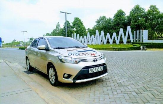 Cần bán Toyota Vios E 1.5AT 2017 Vàng Cát