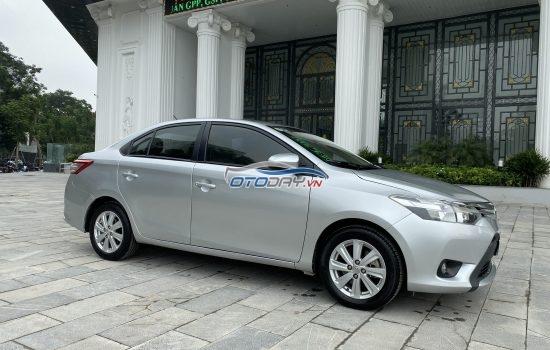 Cần bán Vios 1.5E sản xuất 2015 chính chủ biển Hà Nội