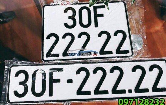 Địa chỉ Ép biển số xe Ô tô tận nơi giá rẻ tại Hà Nội